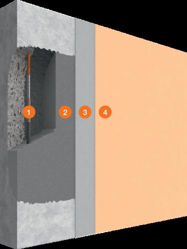 Système de réparation structurale des bétons