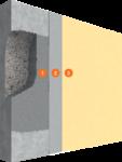 Système de réparation des bétons