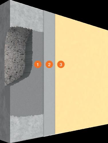 System Beton- und Mauerwerkssanierung