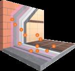Snel uithardend lijmsysteem voor natte binnenruimtes