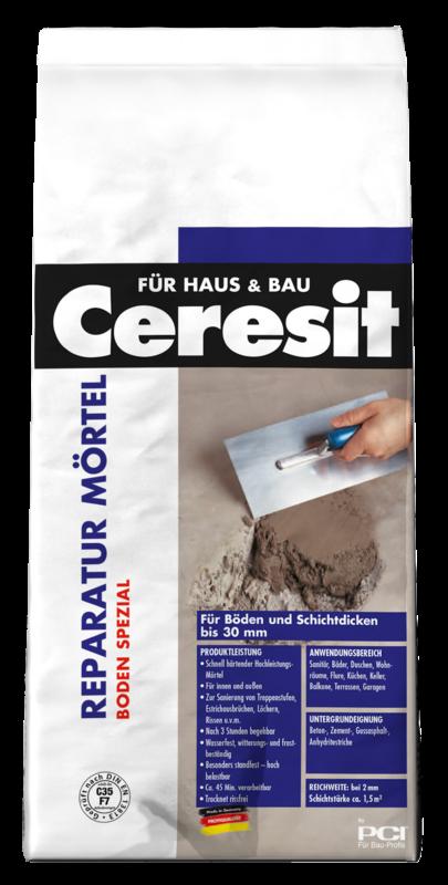 Reparatur Mörtel Boden spezial