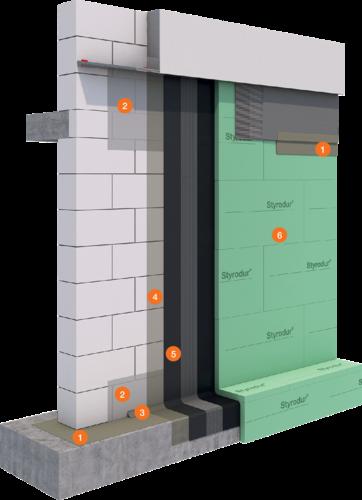 System Bauwerksabdichtung PCI Pecimor®