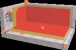 Système d'étanchéité pour les installations  de traitement des eaux usées