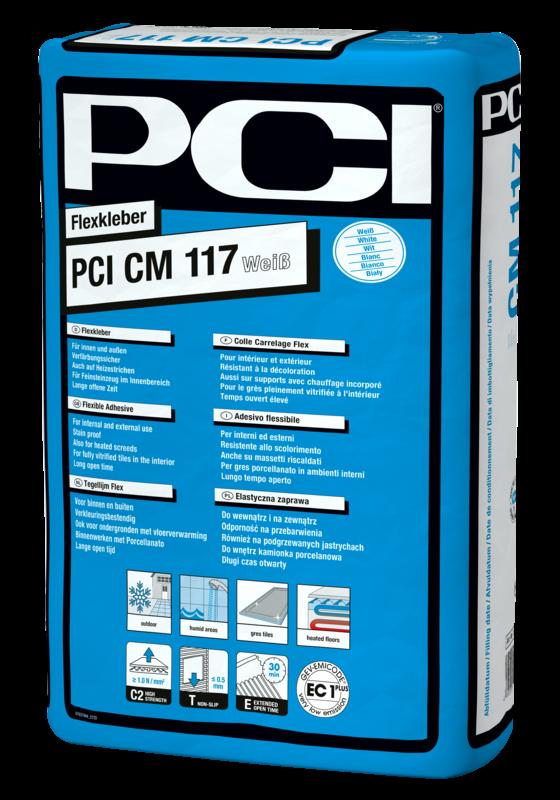 PCI CM 117 weiß