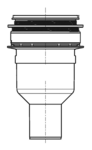 PCI Pecibord® Bodenablauf S (vloerafvoer verticaal)